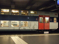rer paris train photo